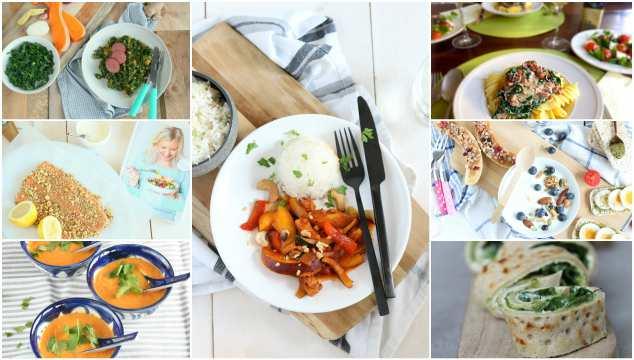 weekmenu 39 makkelijke recepten