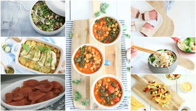 Weekmenu 42 makkelijke recepten