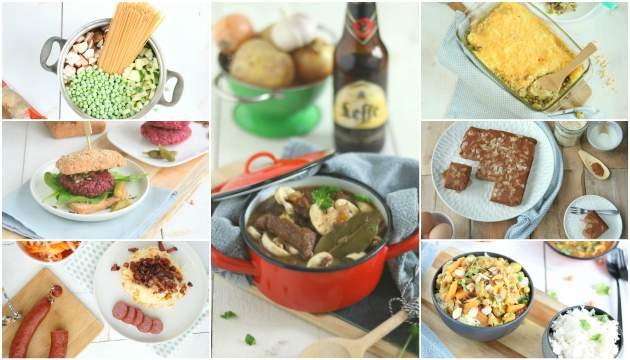 Weekmenu 47 makkelijke recepten