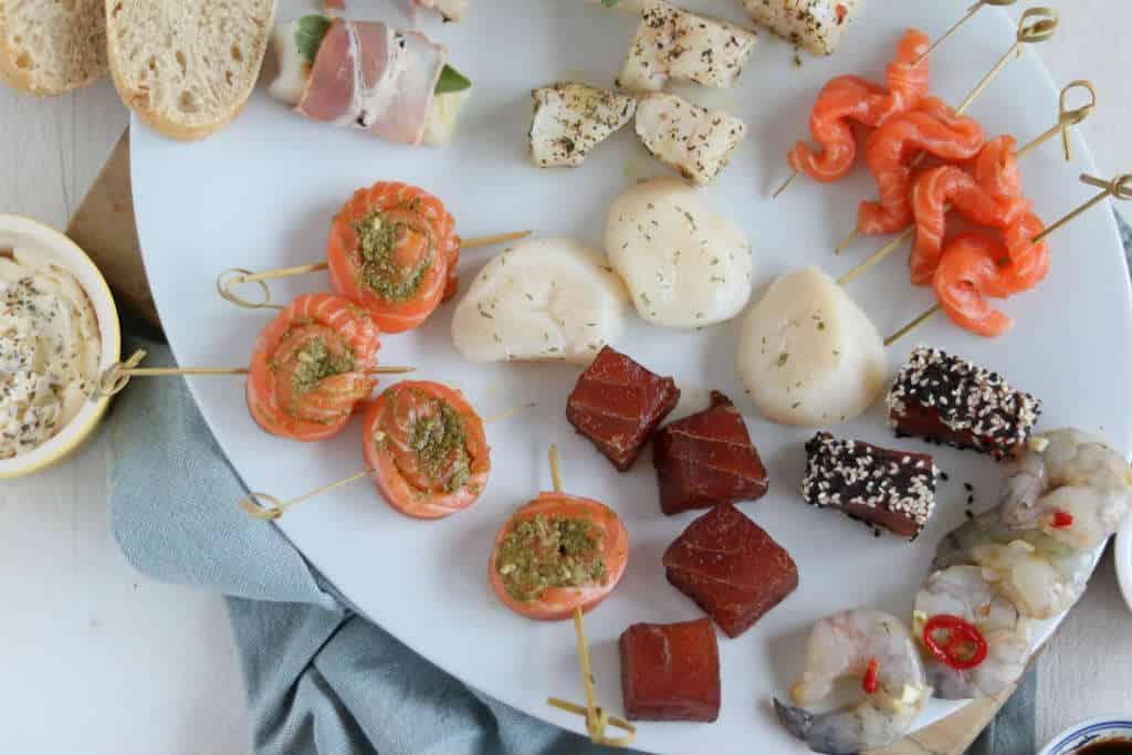Gourmetrecepten met vis