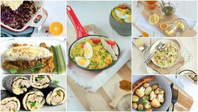 Weekmenu 54 makkelijke recepten
