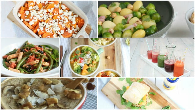 Weekmenu 55 makkelijke recepten