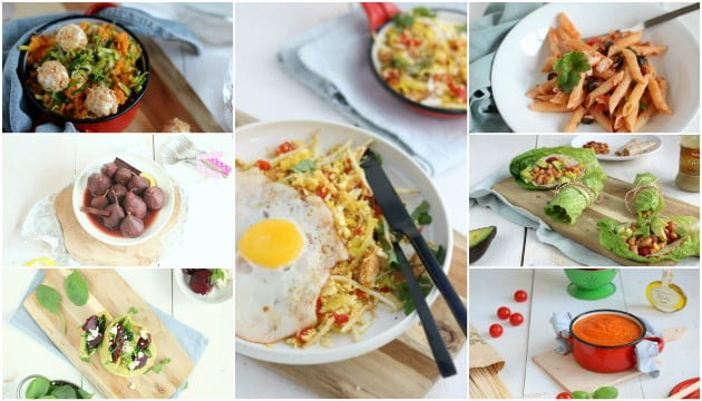 Weekmenu 56 makkelijke recepten