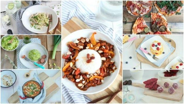 Weekmenu 59 makkelijke recepten