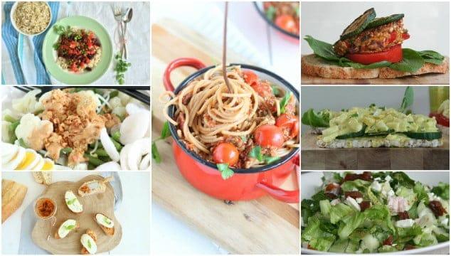 Weekmenu 61 makkelijke recepten
