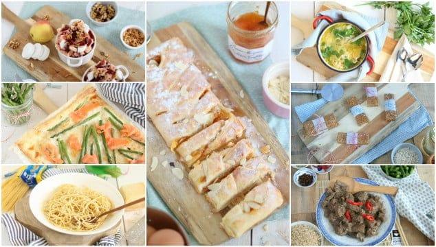 Weekmenu 63 makkelijke recepten