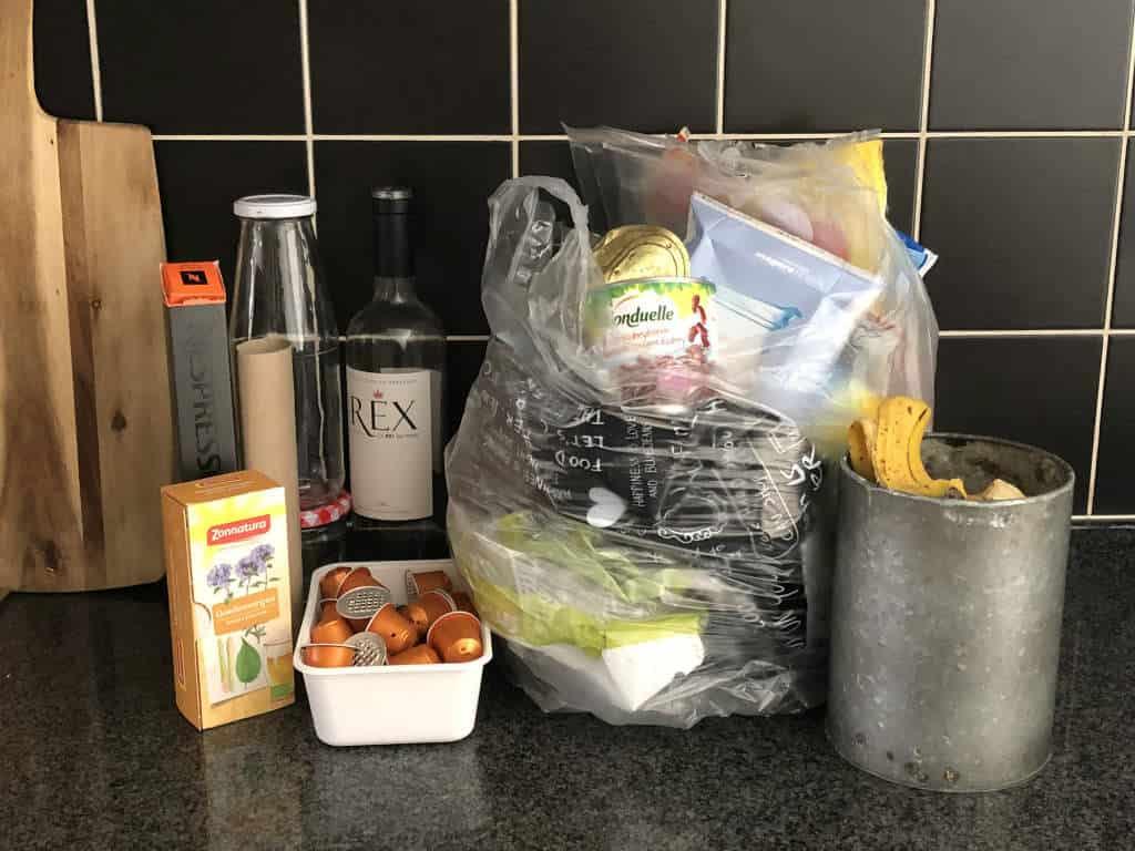 Afval scheiden in de keuken