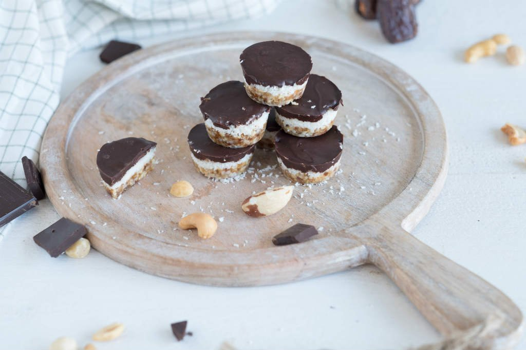 Chocolade kokos bonbons