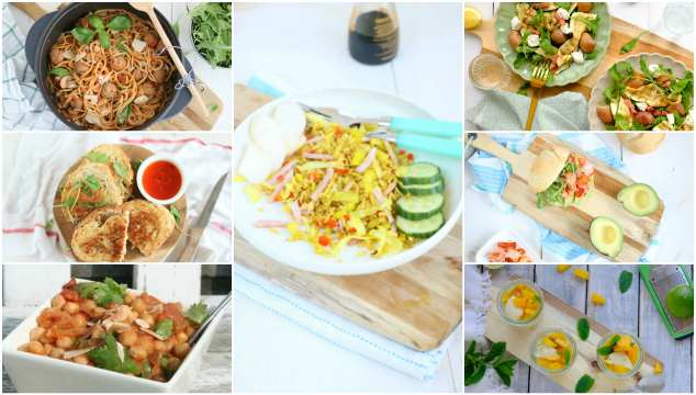 Weekmenu 81 makkelijke recepten