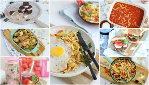Weekmenu 82 makkelijke recepten