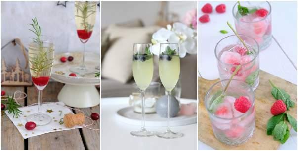 Maak een feestje of dinertje feestelijker met een prosecco cocktail. Kies een van de 3 cocktails met limoncello, blauwe bessen siroop of framboos.