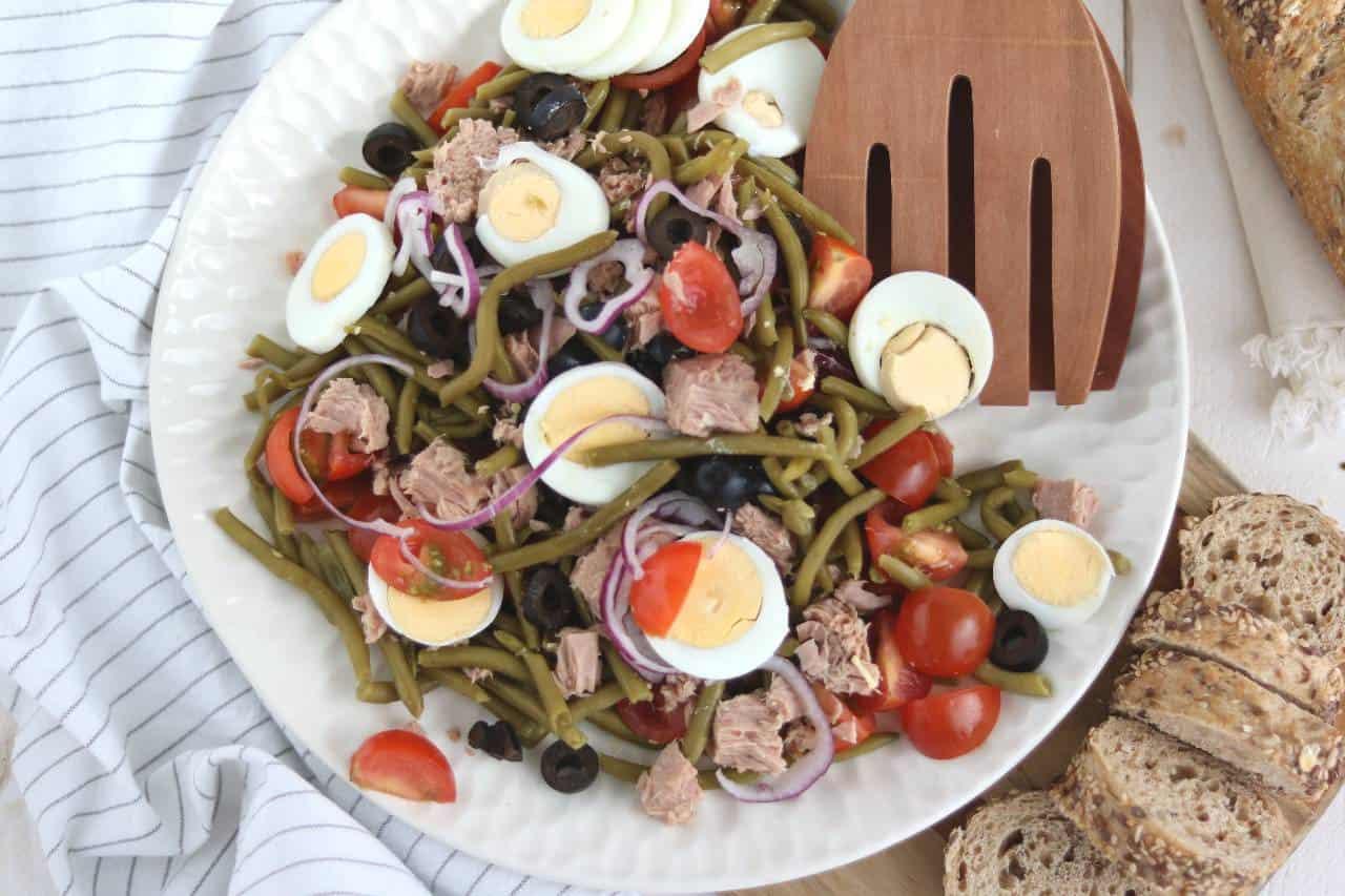 makkelijke salade niçoise