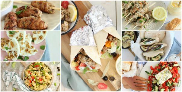 Een blog vol met de 10 lekkerste Griekse recepten van een Griekse salade, zelf pita broodjes maken, keftedes, saganaki, tzatziki en Griekse ijsjes.
