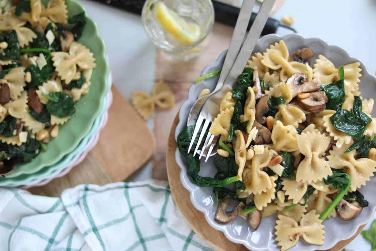 Lekker eten met Linda – vegetarische pasta
