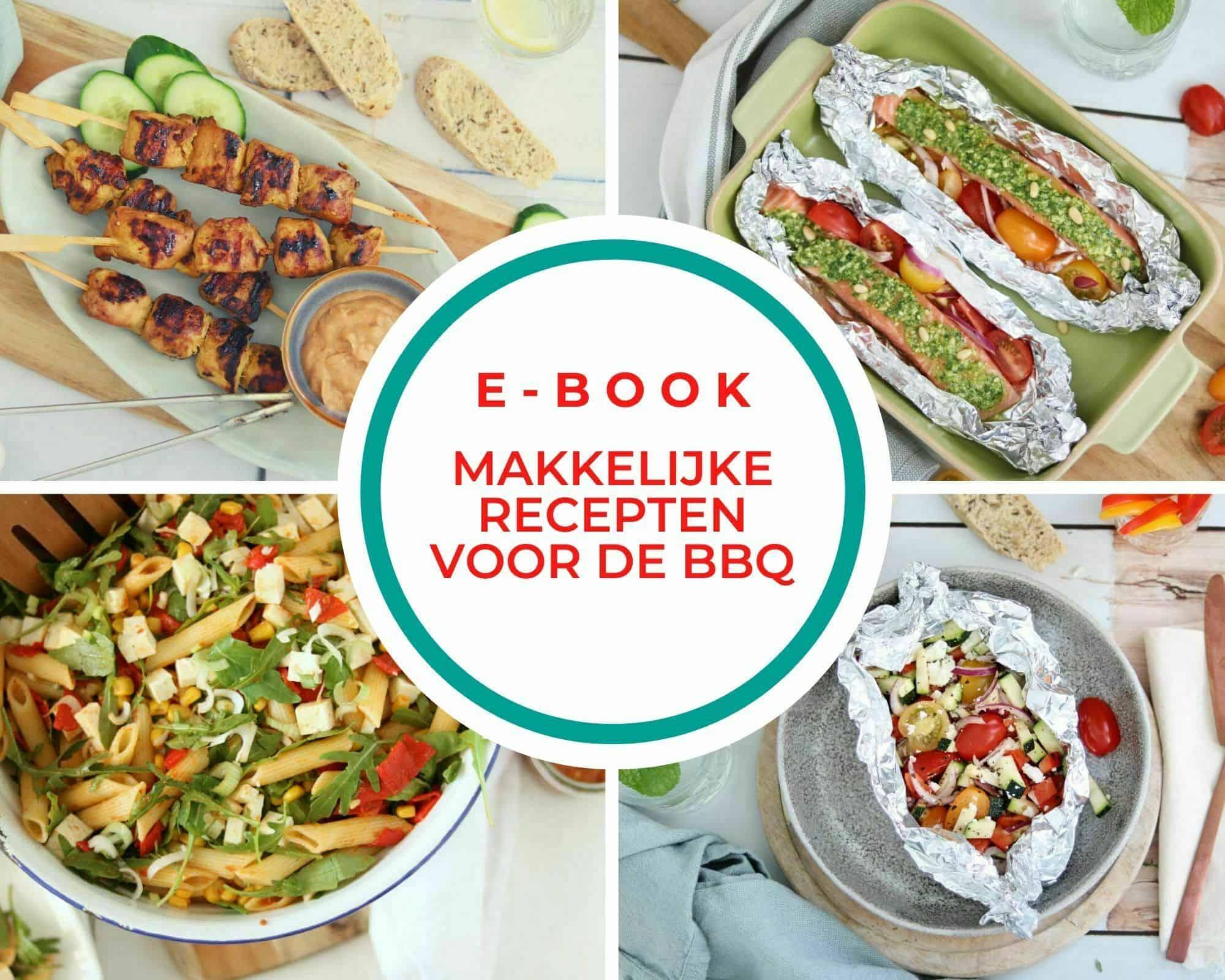 Gratis E-book makkelijke recepten voor de barbecue