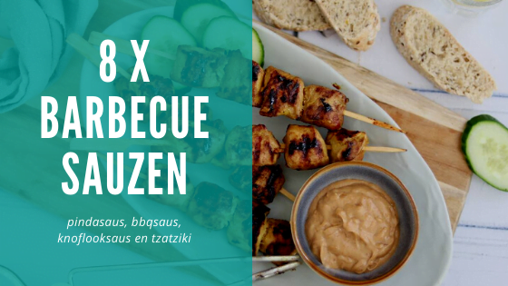 8 x barbecue sauzen