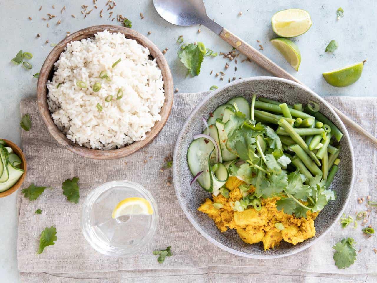 Kip tandoori maken, kip tandoori kruidenmix maak je makkelijk zelf.