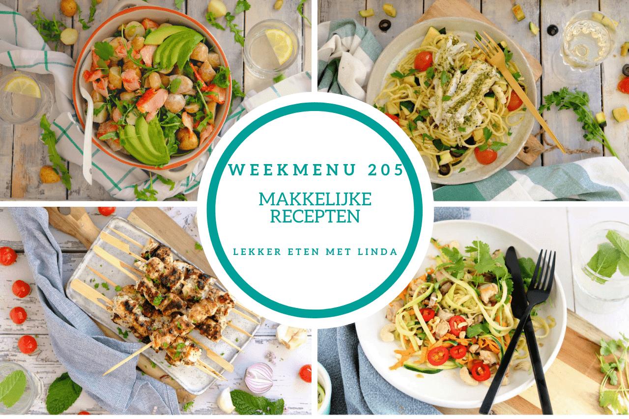 Wat eten we vandaag? Bekijk het nieuwe weekmenu met inspiratie voor makkelijke recepten voor het avondeten.