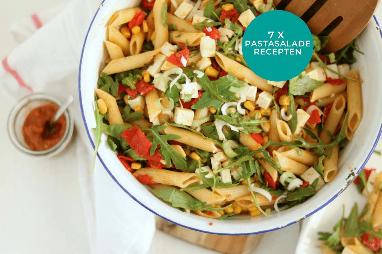 7 x pastasalade recepten makkelijk en snel op tafel