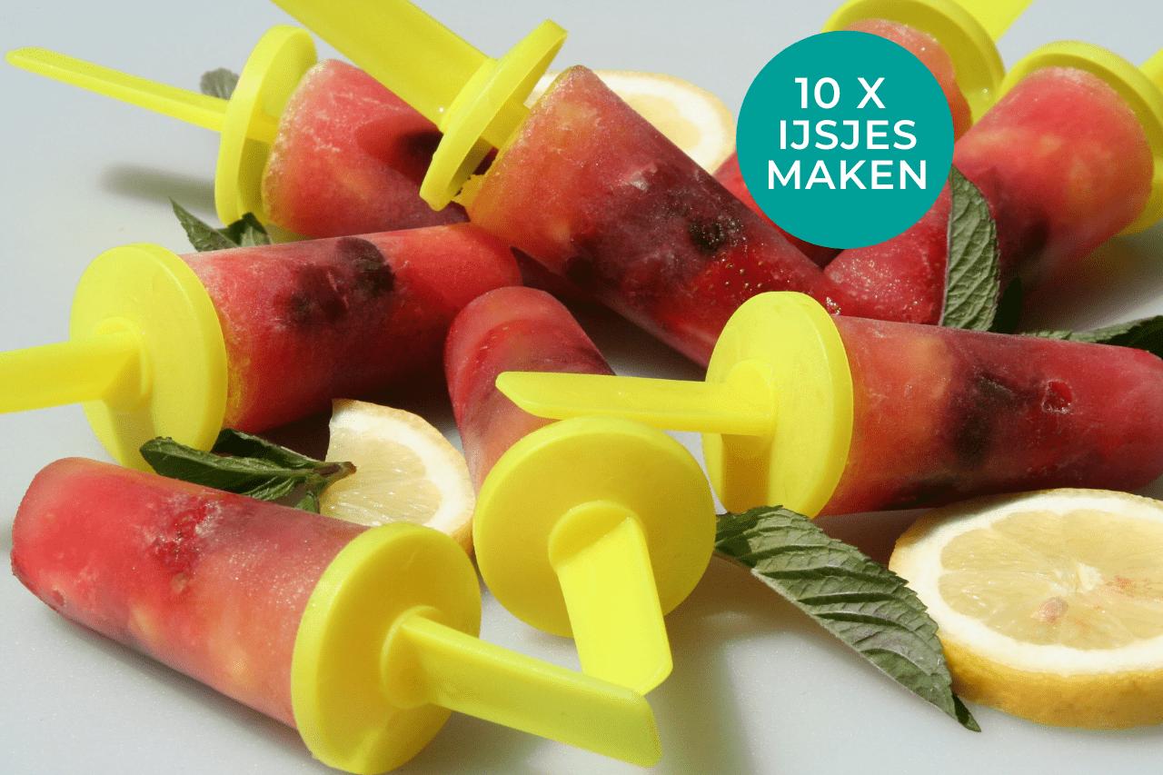 10 x gezonde ijsjes maken