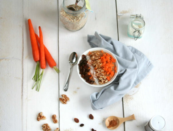 carrot cake havermout