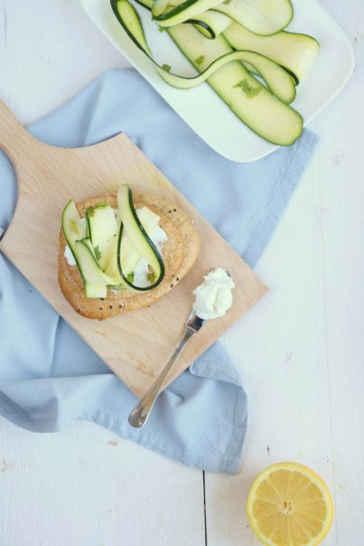 havermoutbroodjes met courgette